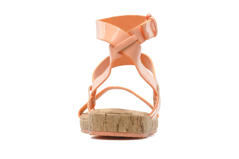 Sandales et nu-pieds Aldo Biravia Orange vue droite