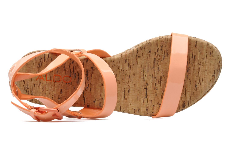 Sandales et nu-pieds Aldo Biravia Orange vue gauche