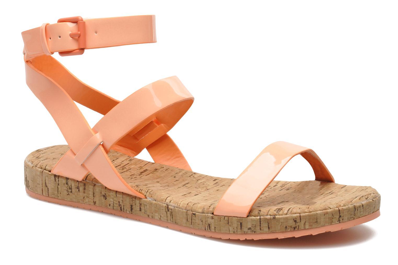 Sandales et nu-pieds Aldo Biravia Orange vue détail/paire