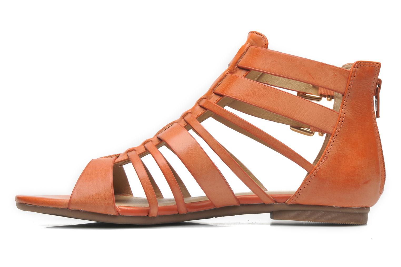 Sandalen Aldo Mariya orange ansicht von vorne