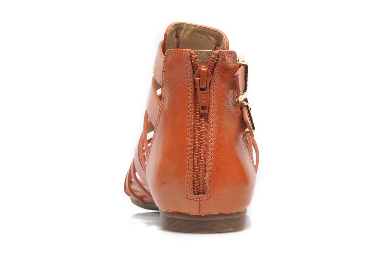 Sandales et nu-pieds Aldo Mariya Orange vue droite