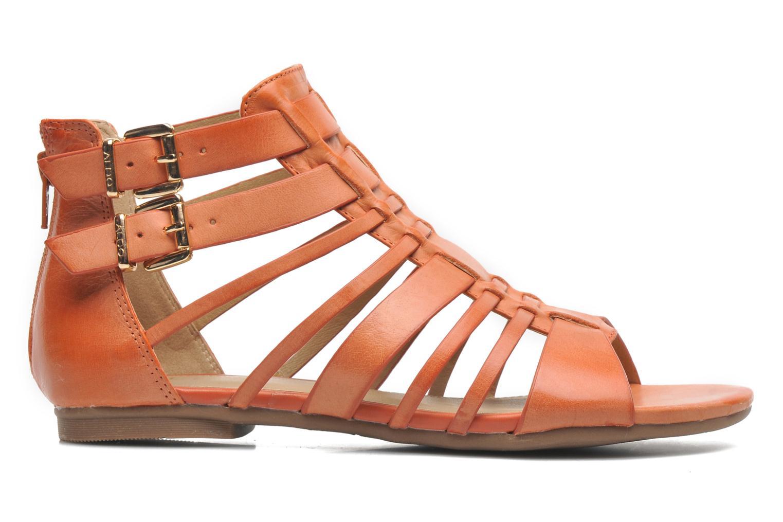 Sandales et nu-pieds Aldo Mariya Orange vue derrière