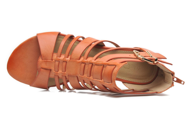 Sandales et nu-pieds Aldo Mariya Orange vue gauche