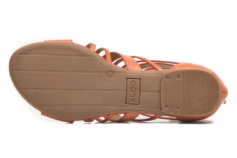 Sandales et nu-pieds Aldo Mariya Orange vue haut