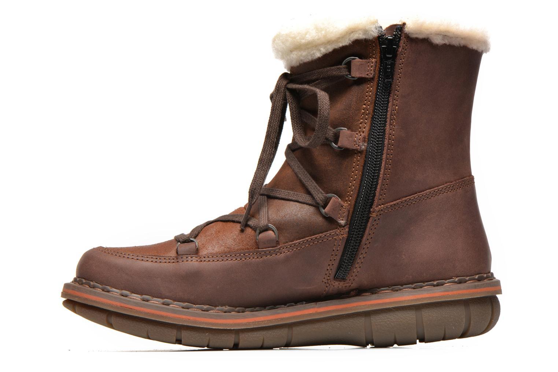 Boots en enkellaarsjes Art Assen 0435 Bruin voorkant