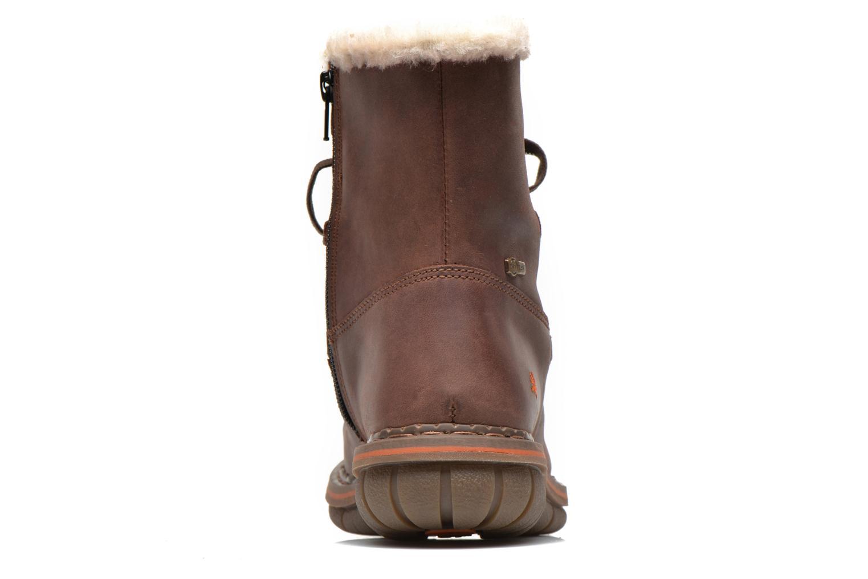 Boots en enkellaarsjes Art Assen 0435 Bruin rechts