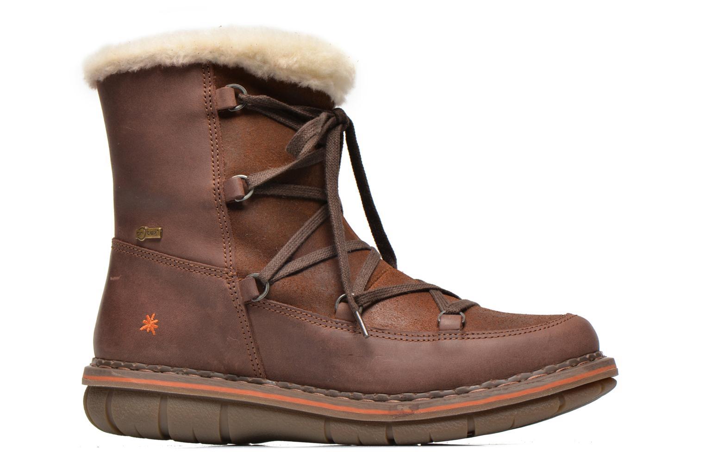 Boots en enkellaarsjes Art Assen 0435 Bruin achterkant