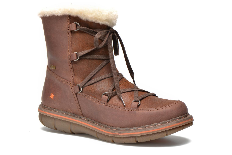 Boots en enkellaarsjes Art Assen 0435 Bruin detail