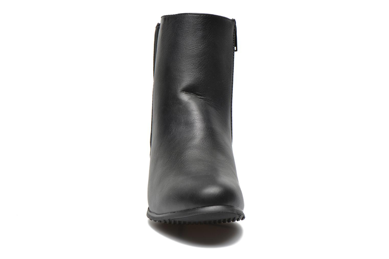 Stiefeletten & Boots Pieces Uma Chelsea schwarz schuhe getragen