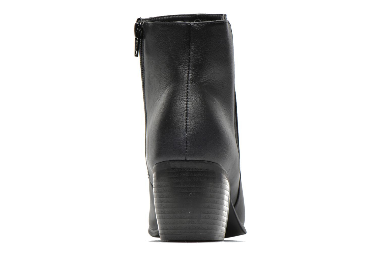 Stiefeletten & Boots Pieces Uma Chelsea schwarz ansicht von rechts