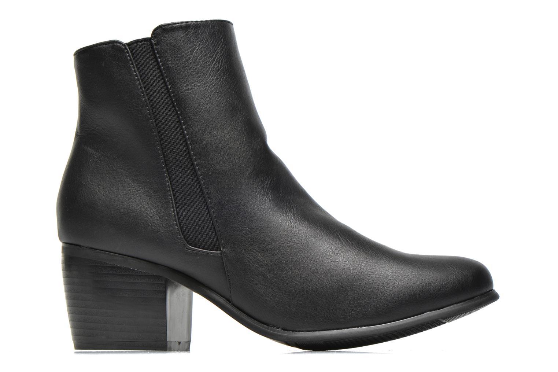 Boots en enkellaarsjes Pieces Uma Chelsea Zwart achterkant