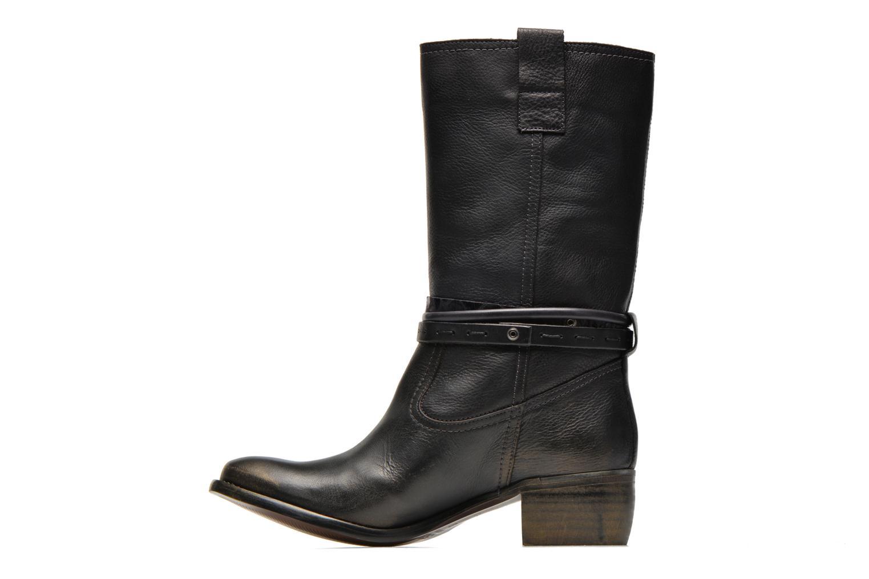 Bottines et boots Karston Fuzin Noir vue face