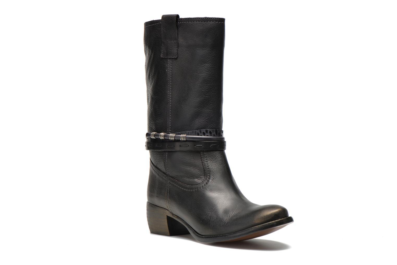 Boots en enkellaarsjes Karston Fuzin Zwart detail