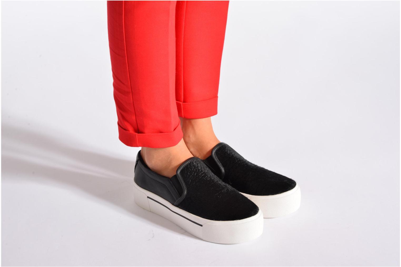 Sneakers DKNY Bless platform Zwart onder