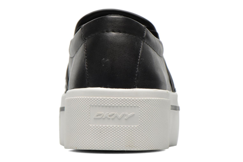 Sneakers DKNY Bless platform Zwart rechts