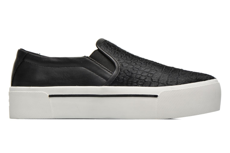 Sneakers DKNY Bless platform Zwart achterkant