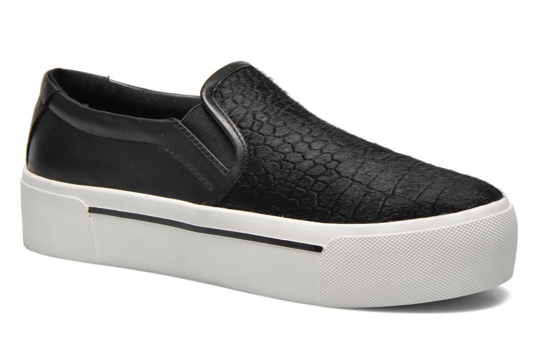 Sneakers DKNY Bless platform Zwart detail