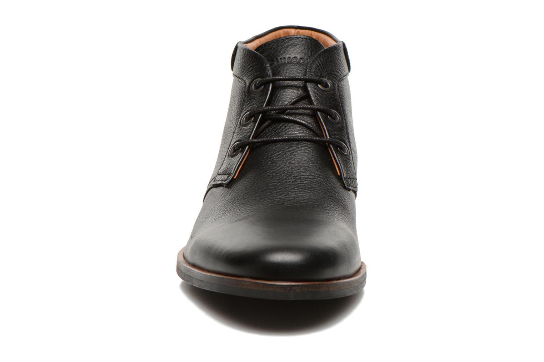 Chaussures à lacets Schmoove Dirtydandy Desert Noir vue portées chaussures