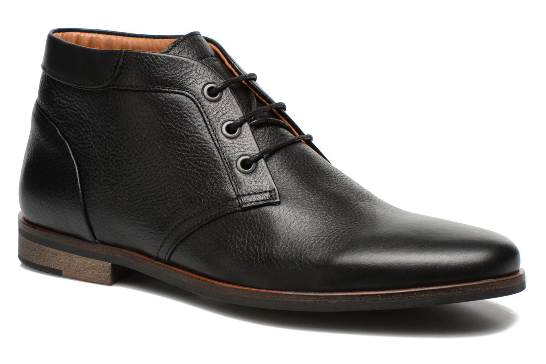Chaussures à lacets Schmoove Dirtydandy Desert Noir vue détail/paire