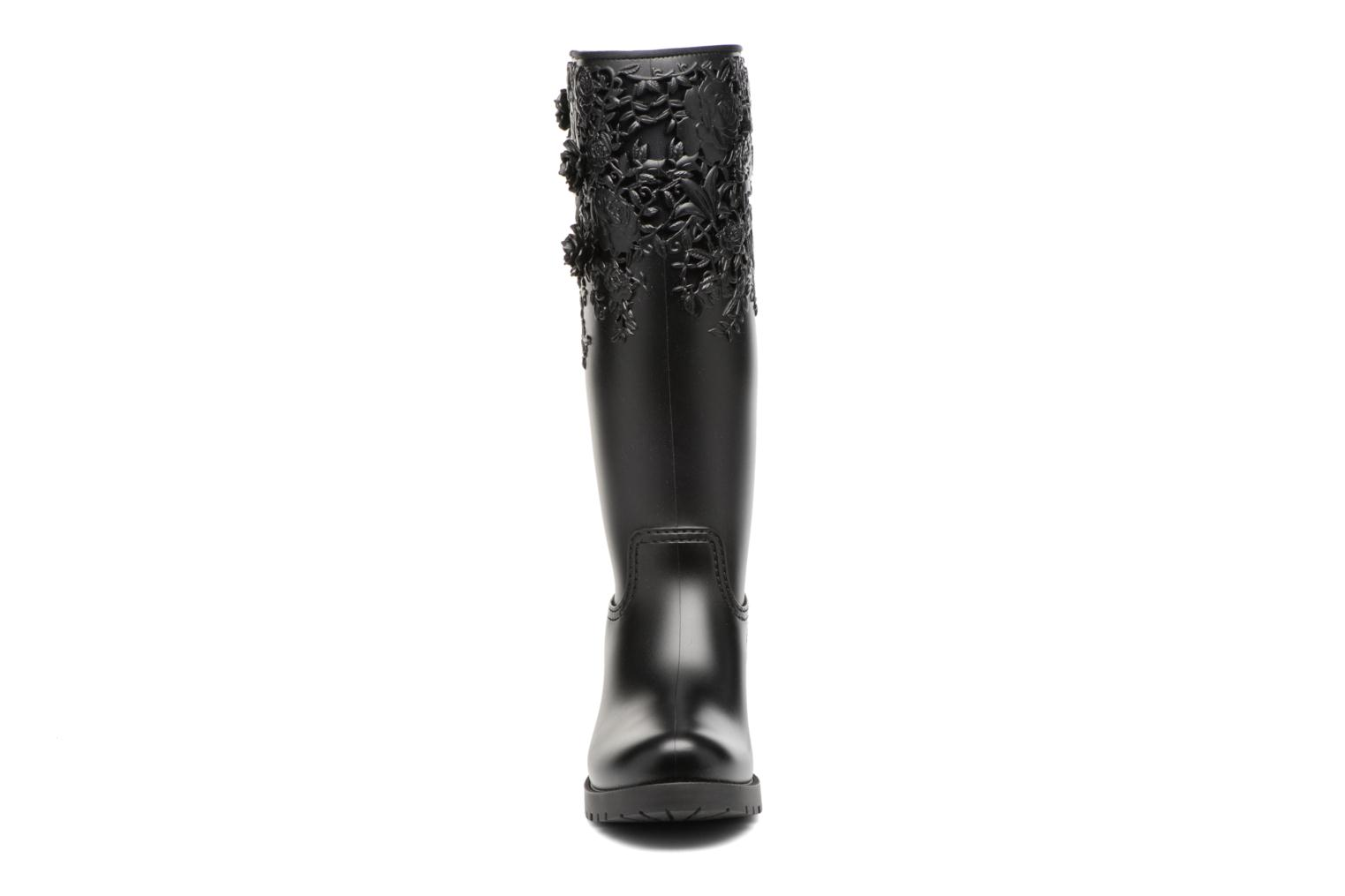 Melissa Flower Boot Black