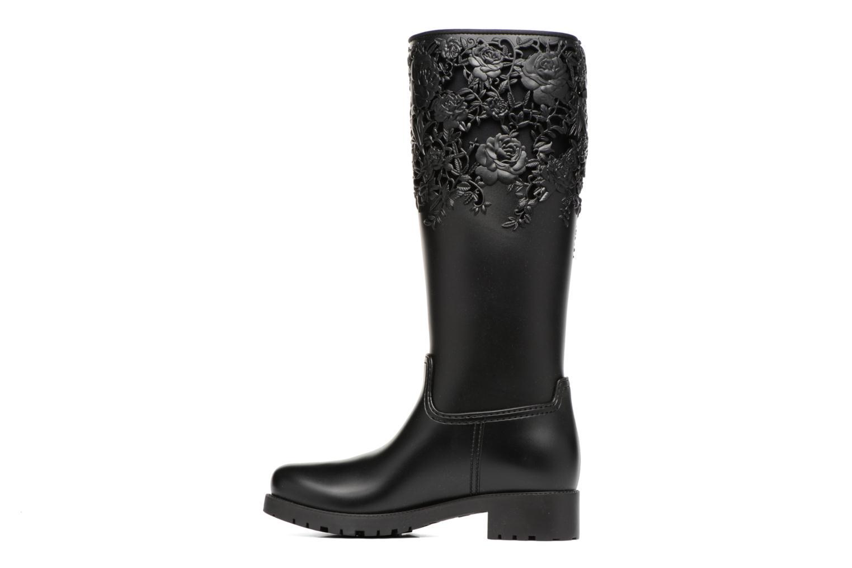 Bottines et boots Melissa Melissa Flower Boot Noir vue face