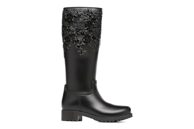 Bottines et boots Melissa Melissa Flower Boot Noir vue derrière