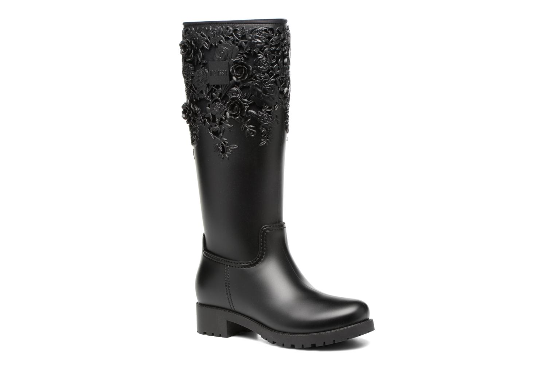 Melissa Flower Boot Black