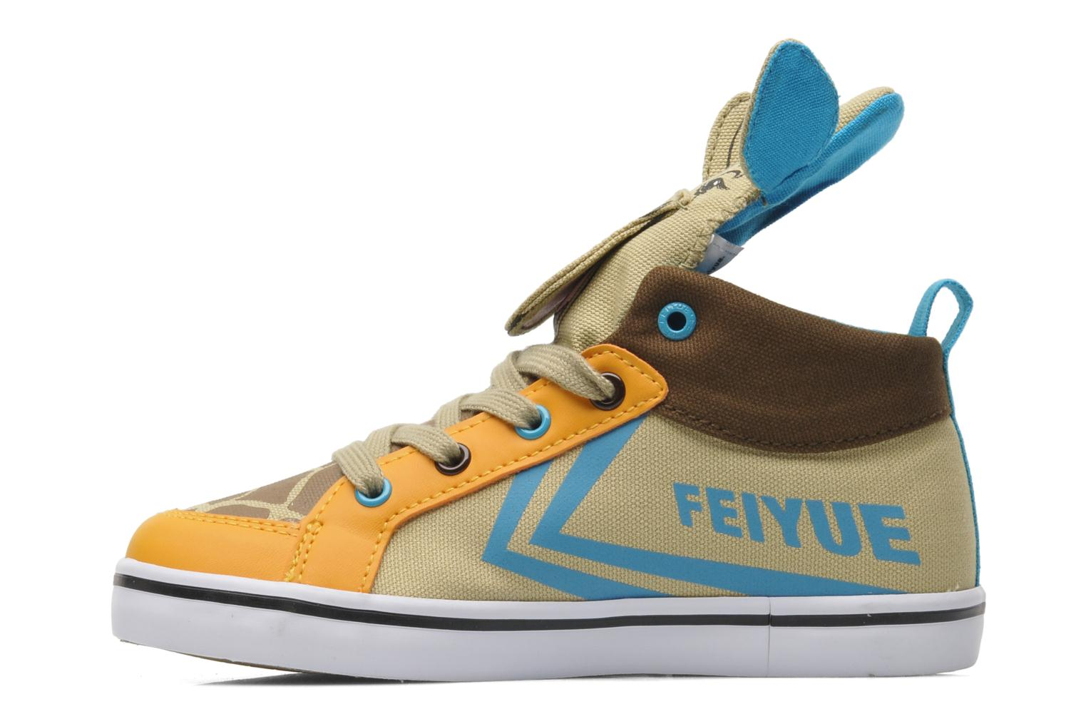 Delta Mid Animal 2 TAN CYAN ORANGE