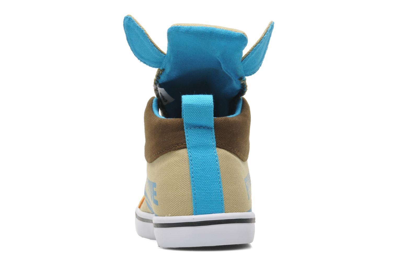 Baskets Feiyue Delta Mid Animal 2 Multicolore vue droite