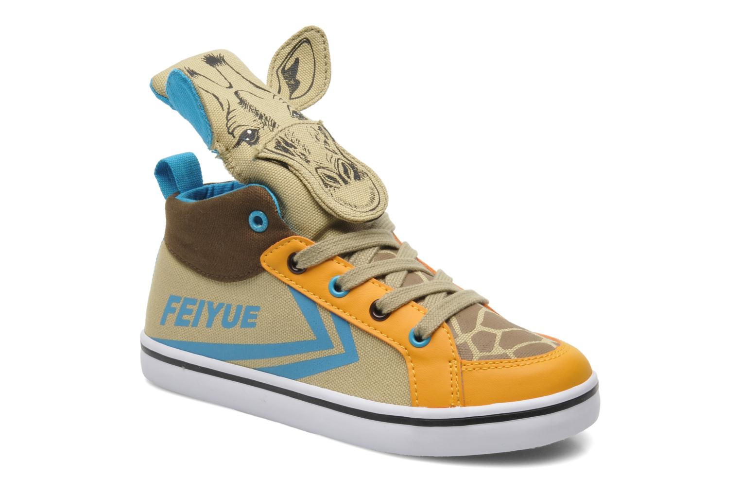 Trainers Feiyue Delta Mid Animal 2 Multicolor detailed view/ Pair view