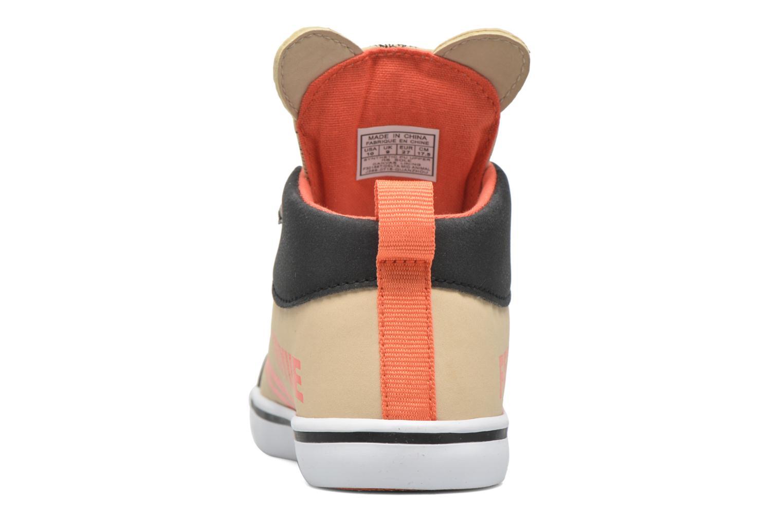 Sneaker Feiyue Delta Mid Animal 2 beige ansicht von rechts