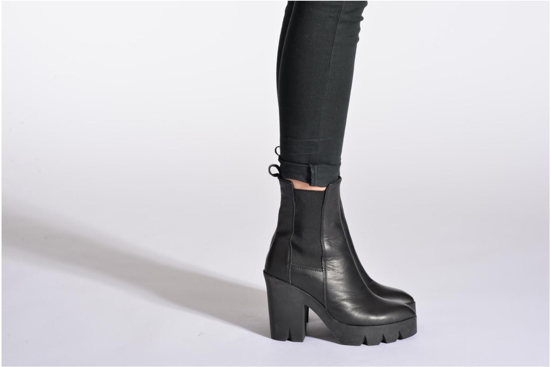 Stiefeletten & Boots Ash Toxico schwarz ansicht von unten / tasche getragen