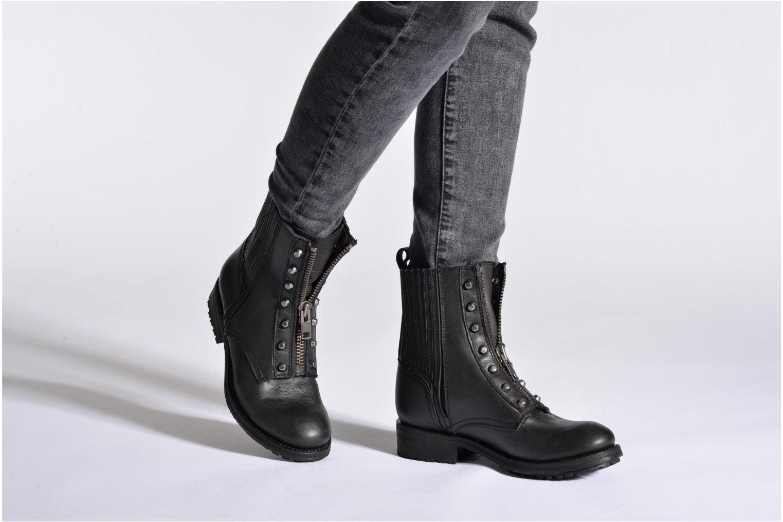 Bottines et boots Ash Rachel Noir vue bas / vue portée sac
