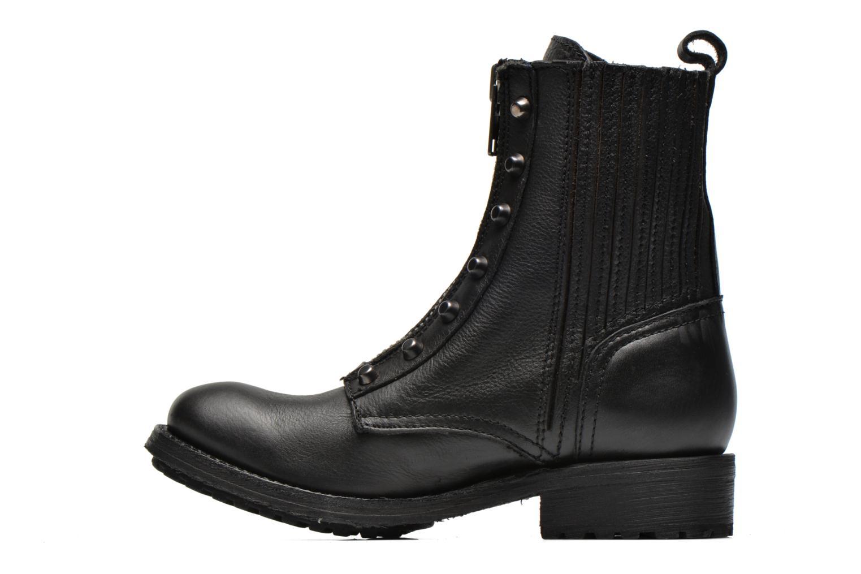 Bottines et boots Ash Rachel Noir vue face