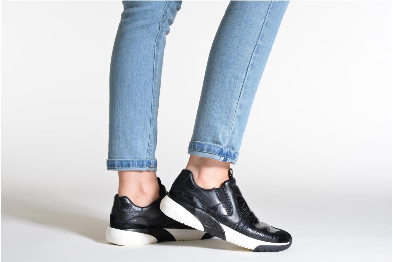 Sneaker Ash Set schwarz ansicht von unten / tasche getragen