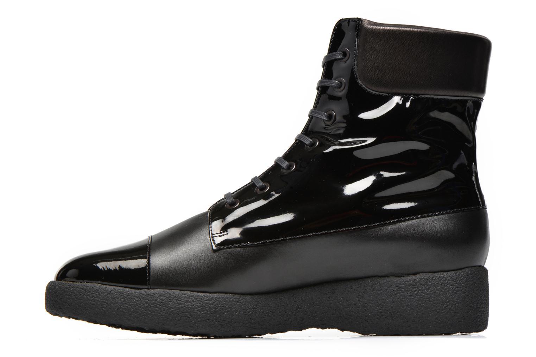 Boots en enkellaarsjes Clergerie Freezj Zwart voorkant