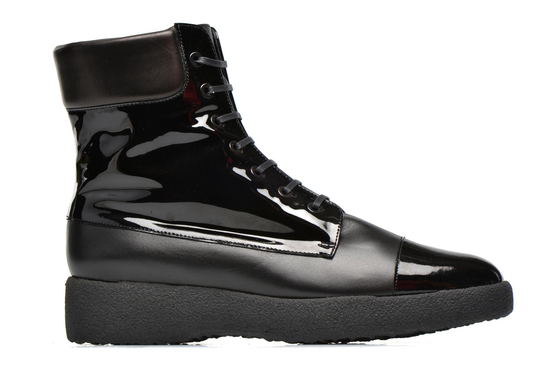 Boots en enkellaarsjes Clergerie Freezj Zwart achterkant