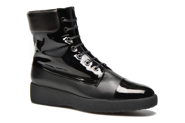 Boots en enkellaarsjes Clergerie Freezj Zwart detail