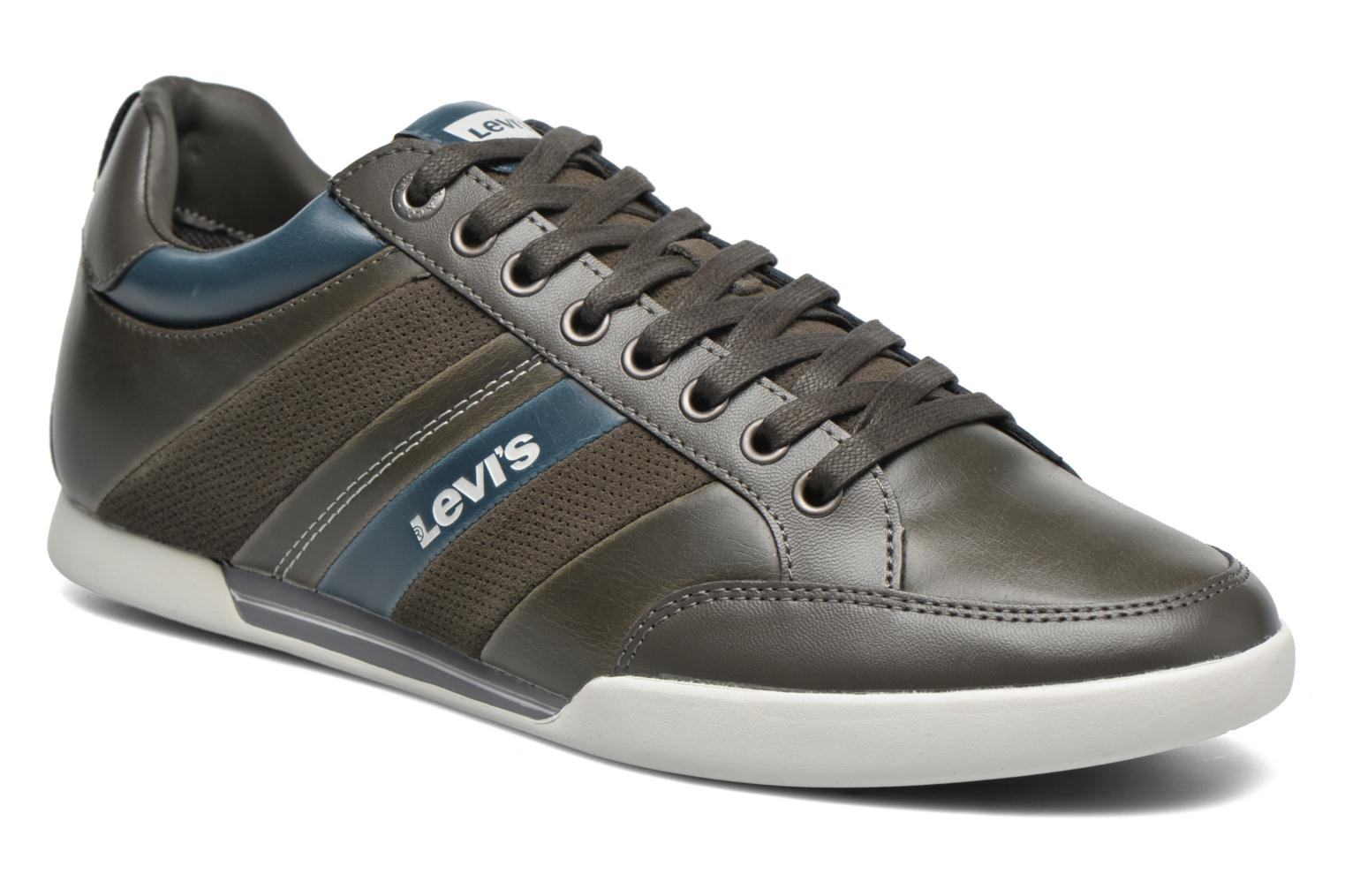 Baskets Levi's Turlock Refresh Gris vue détail/paire