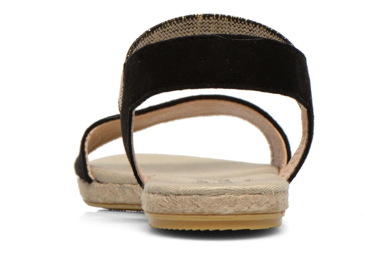 Sandales et nu-pieds La maison de l'espadrille Sandale 1091 Noir vue droite