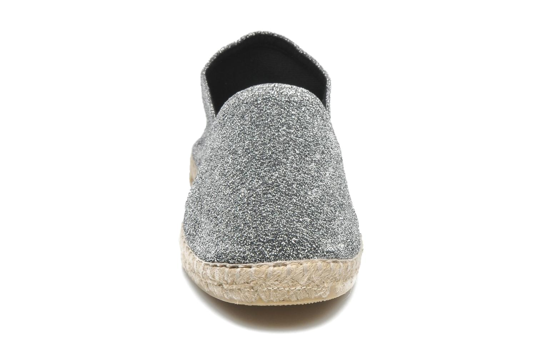 Espadrilles La maison de l'espadrille Espadrille 324 Lux Gris vue portées chaussures