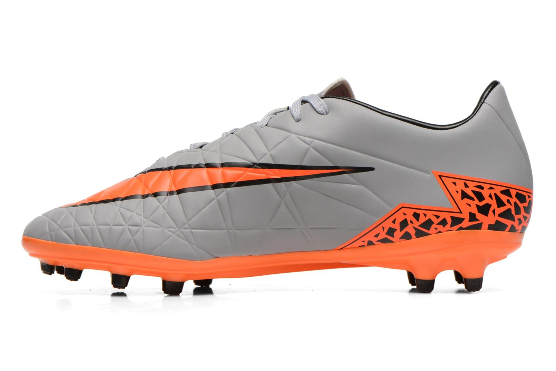 Sportschoenen Nike Hypervenom Phelon II Fg Grijs voorkant