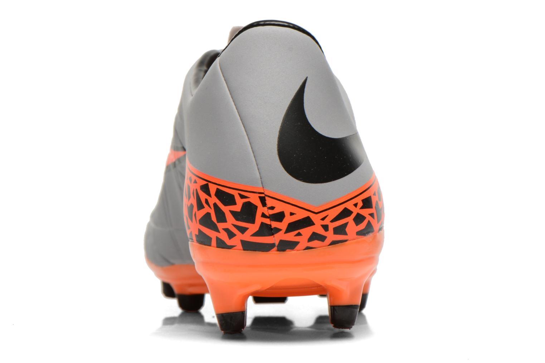 Chaussures de sport Nike Hypervenom Phelon II Fg Gris vue droite