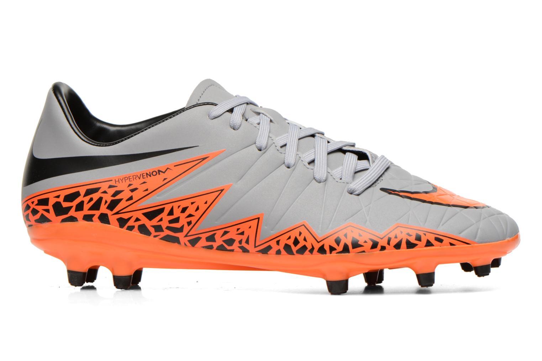 Chaussures de sport Nike Hypervenom Phelon II Fg Gris vue derrière