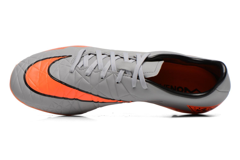 Chaussures de sport Nike Hypervenom Phelon II Fg Gris vue gauche