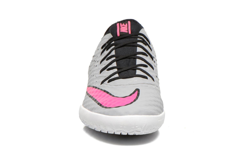 Chaussures de sport Nike Mercurialx Finale Ic Gris vue portées chaussures
