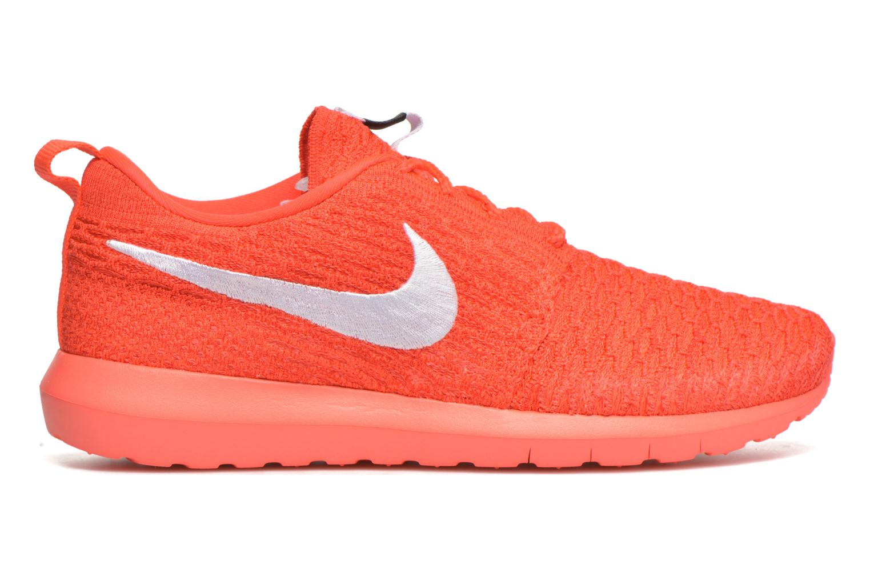 Baskets Nike Nike Roshe Nm Flyknit Orange vue derrière