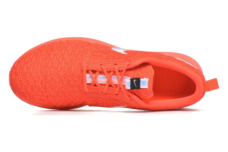 Baskets Nike Nike Roshe Nm Flyknit Orange vue gauche