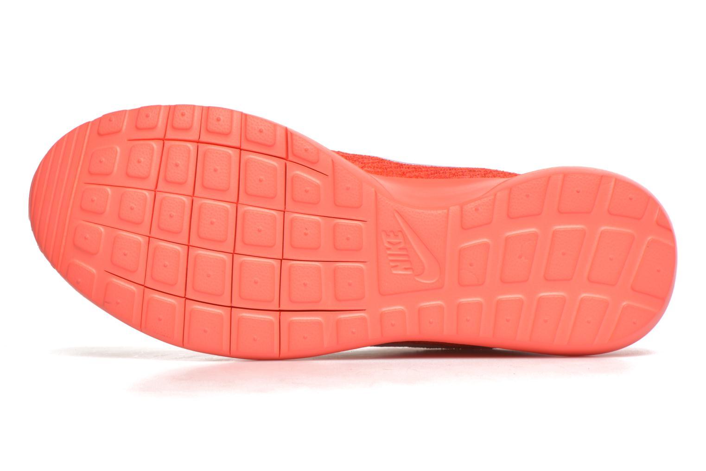 Baskets Nike Nike Roshe Nm Flyknit Orange vue haut