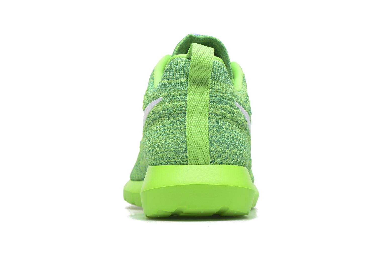 Baskets Nike Nike Roshe Nm Flyknit Vert vue droite